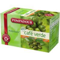 Infusión de café verde POMPADOUR, caja 20 sobres