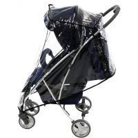 Burbuja de lluvia universal para silla de paseo, con orificios de ventilación. No incluye silla paseo. ASALVO