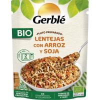 Lentejas-arroz GERBLÉ BIO, doypack 250 g