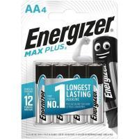 Pila alcalina Max plus LR06 (AA) ENERGIGER, pack 4 uds