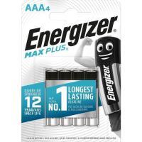 Pila alcalina Max plus LR03 (AAA) ENERGIGER, pack 4 uds