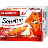 Sonrisas de queso-tomate LA COCINERA, caja 266 g
