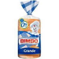 Pan blanco BIMBO, paquete 375 g