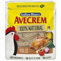 Caldo de pollo 100% natural AVECREM, 10 pastillas, doypack 100 g