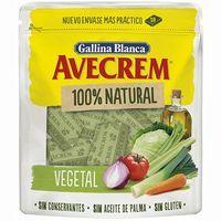 Caldo 100% natural  verdura 10 past. AVECREM, doypack 100 g