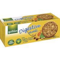 Galleta digestive muesli GULLÓN, caja 365 g