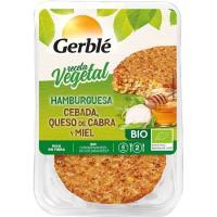 Hamburguesa de cereales-queso-miel GERBLE BIO, bandeja 200 g