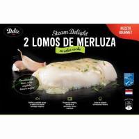 Merluza del cabo en salsa verde MSC DELIZ, bandeja 260 g