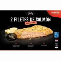 Filetes de salmón menieur MSC DELIZ, bandeja 300 g