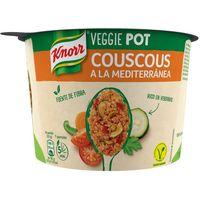 Couscous a la mediterránea KNORR, tarrina 73 g