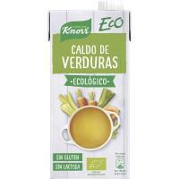 Caldo de verduras ecológico KNORR, brik 1 litro