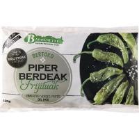 Pimiento verde frito del país BARRENETXE, bolsa 150 g