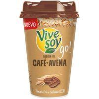Bebida de avena-café VIVESOY Go de PASCUAL, vaso 200 ml