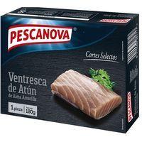 Ventresca de atún PESCANOVA, caja 180 g
