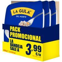 La Gula del Norte ANGULAS AGUINAGA, pack 3x200 g