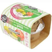 Postre de manzana asada-pera Y SI?, pack 2x150 g