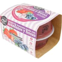 Postre de manzana asada-arándanos-fresa Y SI?, pack 2x150 g