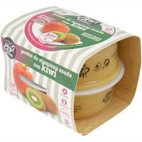 Postre de manzana asada-kiwi Y SI?, pack 2x150 g