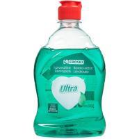 Lavavajillas a mano verde EROSKI, botella 500 ml