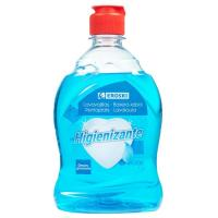 Lavavajillas a mano higienizante EROSKI, botella 500 ml