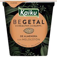 Begetal con melocotón KAIKU, vaso 145 g