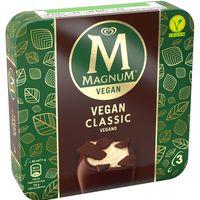 Helado vegan classic MAGNUM, pack 3x71 g