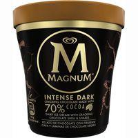 Helado intense dark MAGNUM, tarrina 297 g