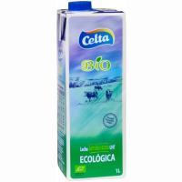 Leche semidesnatada ecológica CELTA, brik 1 litro