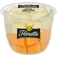 Dúo de Melón (Sapo-Cantaluop) FLORETTE, tarrina 120 g