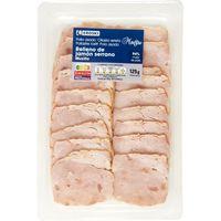Muslito de pollo asado con jamón EROSKI Maestro, bandeja 125 g