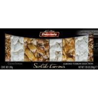 Surtido de turrones selección gourmet DELAVIUDA, caja 200 g