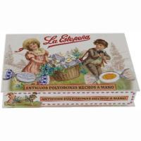 Antiguos polvorones hechos a mano LA ESTEPEÑA, caja 550 g