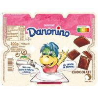 Danonino Petit de chocolate DANONE, pack 6x55 g