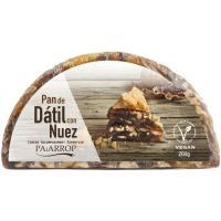 Pan de dátil con nuez PAIARROP, bandeja 200 g