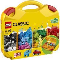 Maletín creativo con ladrillos de colores, edad rec.+4 años LEGO CLASSIC