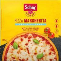 Pizza margarita sin lactosa-sin gluten SCHAR, caja 300 g
