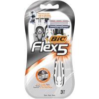 Maquinilla desechable BIC Flex 5, pack 3 uds.