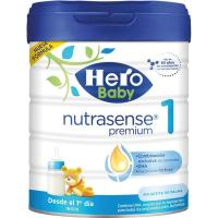 Leche en polvo HERO Baby Nutrasense Premium 1, lata 800 g
