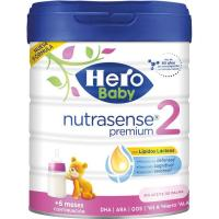 Leche en polvo Nutrasense Premium 2 HERO Baby, lata 800 g