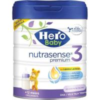 Leche en polvo HERO Baby Nutrasense 3, lata 800 g