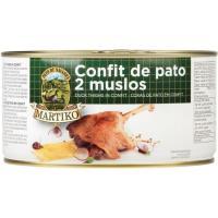 Muslos de pato confitados MARTIKO, 2 uds., lata 870 g