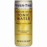 Tónica Indian FEVER TREE, lata 25 cl