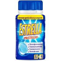 Lejía en pastillas ESTRELLA, bote 32 dosis