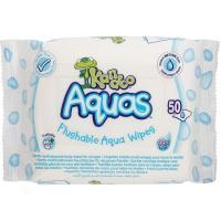 Papel higiénico húmedo aquas KANDOO, paquete 50 uds