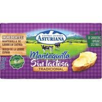Mantequilla sin lactosa ASTURIANA, pastilla 250 g