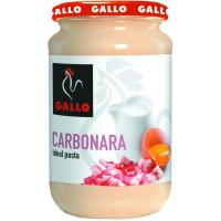 Salsa carbonara GALLO, frasco 330 g