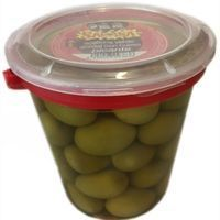 Aceitunas gordal con hueso picante SARASA, frasco 450 g