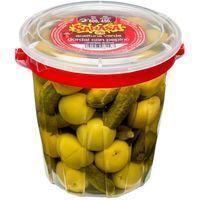 Aceitunas gordal con pepinillo SARASA, frasco 450 g