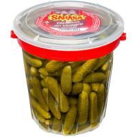 Pepinillos en vinagre SARASA, tarrina 400 g