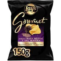 Patatas a la sal marina-trufa negra LAY`S Gourmet, bolsa 150 g
